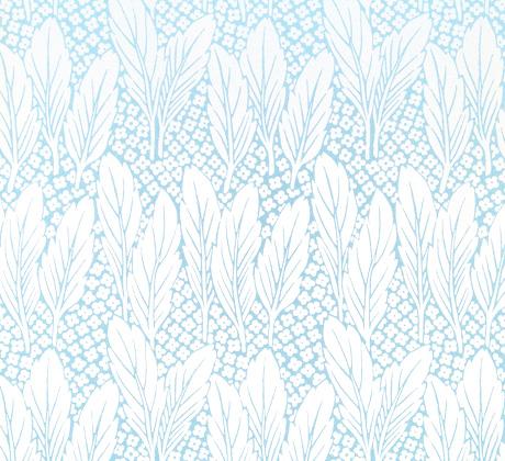 Trädgård (turquoise)